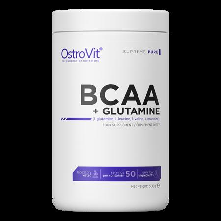 OstroVit Supreme Pure BCAA + Glutamine 500 g